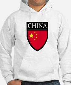 China Flag Patch Jumper Hoody