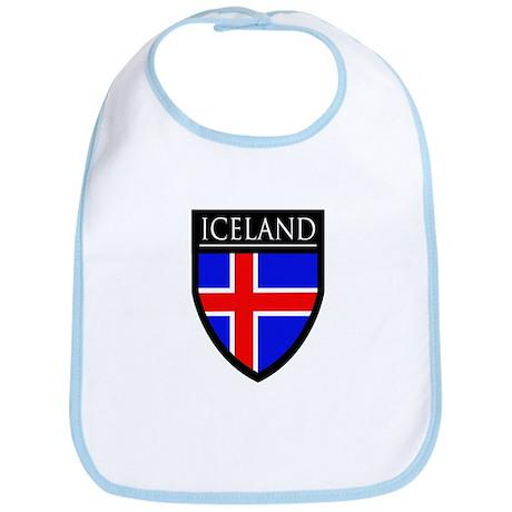 Iceland Flag Patch Bib