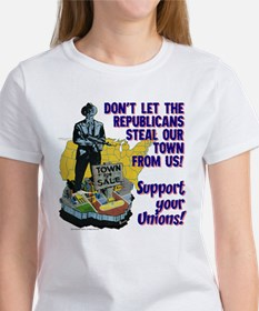 $19.99 Support Your Unions! Women's T-Shirt