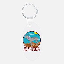 Tripawds Rock - Lottie Keychains