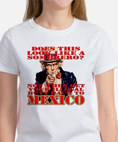 Anti Illegal Mexicans Tee