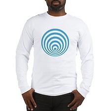 Long sleeve T-shirt with crop circle