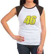 VR 46 Redline Women's Cap Sleeve T-Shirt