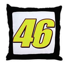 VR 46 Redline Throw Pillow