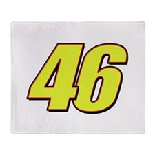 VR 46 Redline Throw Blanket