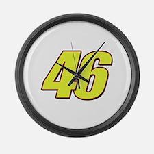 VR 46 Redline Large Wall Clock