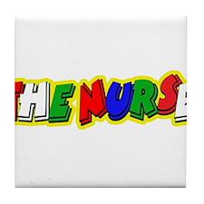 VR 46 Nurse 2 Tile Coaster