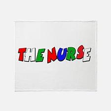 VR Nurse 3 Throw Blanket