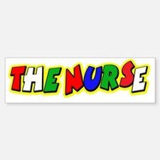 VR Nurse 4 Bumper Bumper Sticker