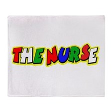 VR Nurse 4 Throw Blanket