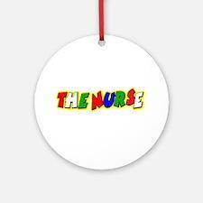 VR Nurse 4 Ornament (Round)