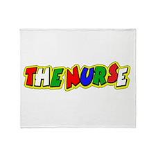 VR Nurse 5 Throw Blanket