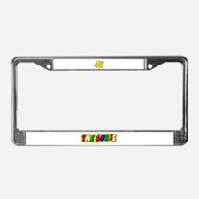 VR Nurse 5 License Plate Frame
