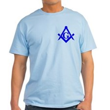 Blue Square and Compass T-Shirt
