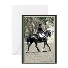 Dressage Horse Birthday Card