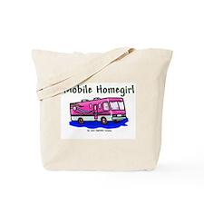 Mobile Home Girl Tote Bag