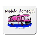 Mobile Home Girl Mousepad