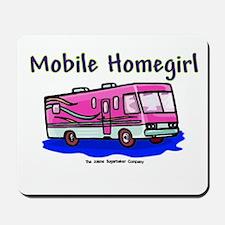 Mobile Home Girl Mousepad