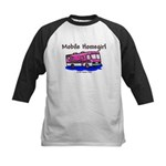 Mobile Home Girl Kids Baseball Jersey