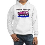 Mobile Home Girl Hooded Sweatshirt