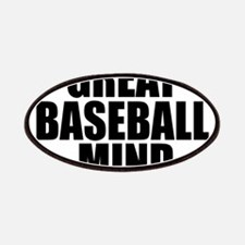 Great Baseball Mind Patches