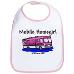Mobile Home Girl Bib