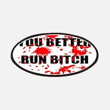 Run Bitch Patches