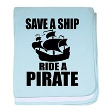 Save A Ship baby blanket