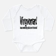 Wingwoman Long Sleeve Infant Bodysuit
