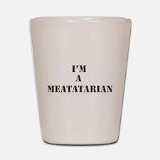 Meatatarian Shot Glass