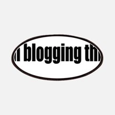 Blogging This Patches