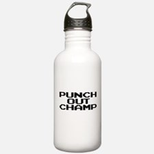 Punch Out Champ Water Bottle