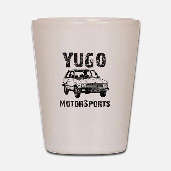 Yugo Motorsports Shot Glass