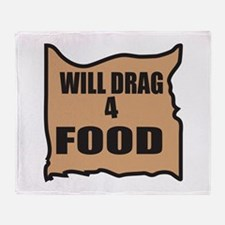Will Drag 4 Food Throw Blanket