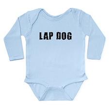 Lap Dog Long Sleeve Infant Bodysuit