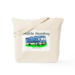Mobile Home Boy Tote Bag