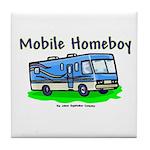 Mobile Home Boy Tile Coaster