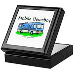 Mobile Home Boy Keepsake Box