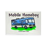 Mobile Home Boy Rectangle Magnet (10 pack)
