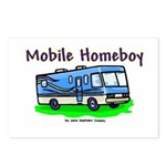 Mobile Home Boy Postcards (Package of 8)
