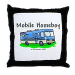 Mobile Home Boy Throw Pillow