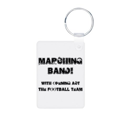 Marching Band Aluminum Photo Keychain