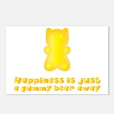 I Love Gummy Bears Postcards (Package of 8)