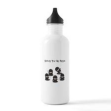 Strictly Ninjas Water Bottle