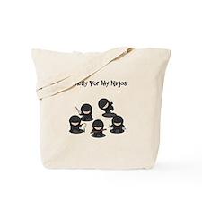 Strictly Ninjas Tote Bag
