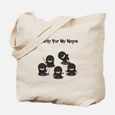 Strictly Ninjas Tote Bag