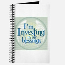 I'm Investing in my blessings Journal