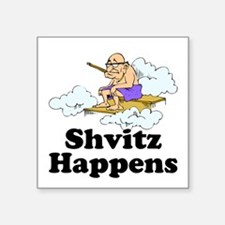 Shvitz Happens Sticker