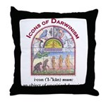 ID Icons Throw Pillow