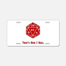 20 Sided Roll Aluminum License Plate